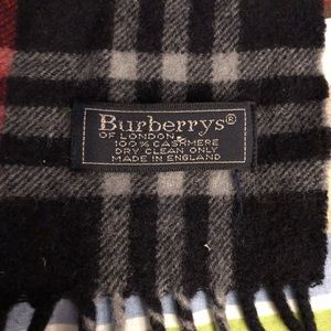 BURBERRY SCARF authentic (Gray)